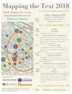 Mapping the Text Conference 2018