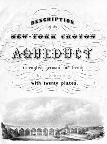 Visualizing the Old Croton Aqueduct through Text and Augmented Reality